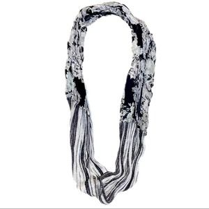 Apt. 9 Shimmery Floral Duo Infinity Scarf